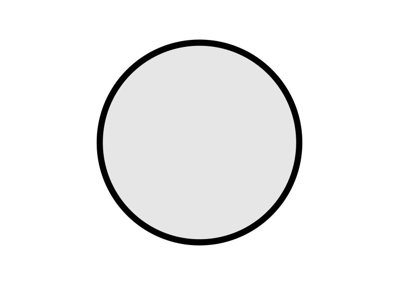 stolové desky: kruh