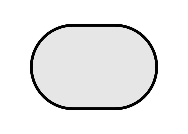 stolové desky: ovál