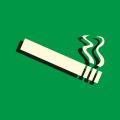 odolává cigaretovému popelu