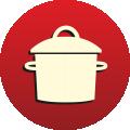 Nepokládat nádoby z vařiče či trouby